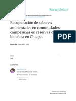 Libro Saberes Ambientales Campesinos-2011