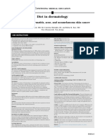 Journal of the American Academy of Dermatology Volume 71 Issue 6 2014 [Doi 10.1016%2Fj.jaad.2014.06.015] Bronsnick, Tara; Murzaku, Era Caterina; Rao, Babar K. -- Diet in Dermatology