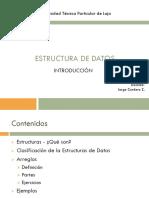 Estructura de Datos - Introducción