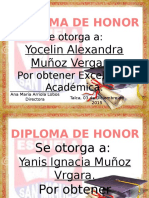 Formato Diplomas