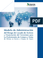 Modelo de Administracion Del Riesgo de LAFT y Contrabando Web