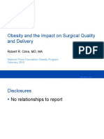 Obesity and Surgical Costs and Quality