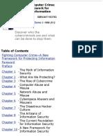 "Donn Parker_"" Fighting Computer Crime a New Framework for Protecting Information"""