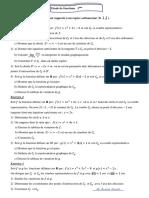 Etude de Fonctions 3ème Sc Techniques