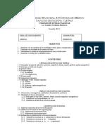 Programa Griego III
