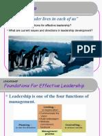 Leader Ppt