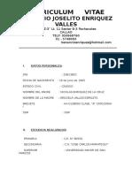 Curriculum Joselito Enriquesdz