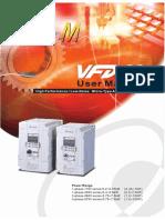 Manual Variador Delta VFD-M