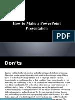 faith how to make a powerpoint presentation