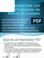 Transistor FET Y UJT