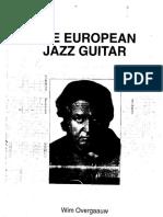 102557248 Wim Overgaauw the European Jazz Guitar