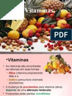 Aprofundamento Vitaminas 2013