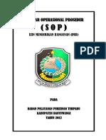standar operasional Izin Mendirikan Bangunan di Banyuwangi
