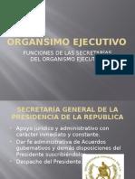 Diapositivas de Las Funciones de Las Secretarías