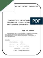 Plan de Turismo PUERTO BERMUDEZ