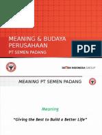 Budaya Perusahaan for S (Strengthening Teamwork) 29-10-2015 FINAL