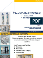 1. Transportasi Vertikal - Eskalator