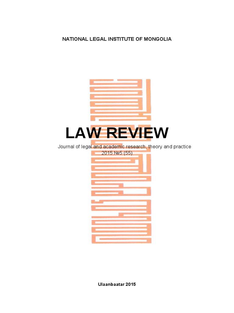 2015 Law Review | Bribery | Corruption
