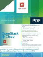 Cisco OpenStack Summit HK v2