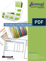 Working With Microsoft Excel 2007