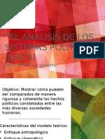 El análisis de los sistemas políticos