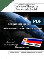Definición ideológica y lineamientos programáticos UNT