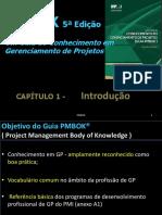 PMBOK 5ª Edição - CAP 01 e CAP 02 - Gerência de Projetos