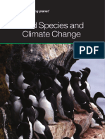 Bird Species and Climate Change