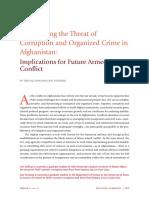 Corruption and Organize Crime