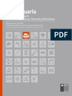 Programa de Estudio de Apropecuaria, incluyendo módulos y menciones