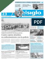 Edicion Impresa Elsiglo Martes 22-02-2016