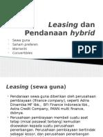 MK2 Leasing and Hybrid Financing 4