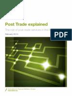 AFME PostTradeExplained Jan2015 W
