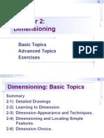 Chapter 2 - Dimensioning - EGE4