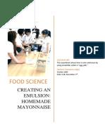 lab report mayonnaise jaja apisara 1