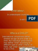 Child Labour Ppt Presentation