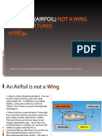 Aerofoil (Airfoil) Not a Wing (By Waqas Ali Tunio)