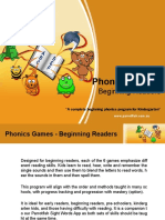 Phonics Games -Beginning Readers