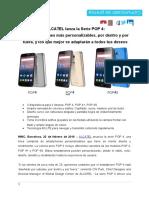 NP - ALCATEL Lanza La Serie POP 4