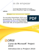 Introduccion a Project 2010