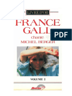 France Gall Livre d or Vol.2 France Gall Chante Michel Berger