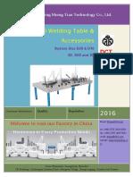 2016 3D Welding Table DCT Catalog