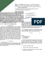 Getaran Teredam 1 DOF paper version