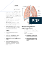 Functions of the Respiratory Syste