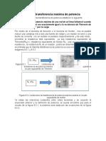 9.5 Teorema de Maxima Transferencia de Potencia