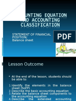 3. Accounting Equation