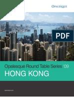Opalesque Hong Kong Roundtable 2009