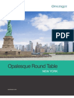 Opalesque New York Roundtable