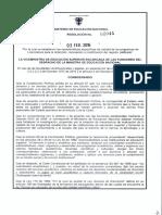 Resolución Final 02041 de 2016 - Licenciaturas