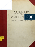 Scarabs and Cylinders With Name - Petrie, W. M. Flinders (William